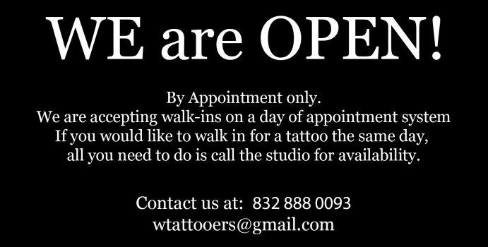 WT we open